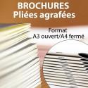 Brochures A3 Ouvert / A4 Fermé