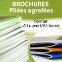 Brochure A4 Ouvert / A5 Fermé